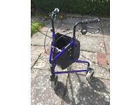 3 wheel Days folding mobility walker