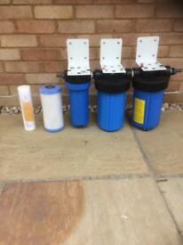 Koi pond water filters.