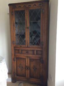 Lovely Jaycee oak corner unit