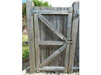 Solid wood garden gate 1760 high x 900 wide