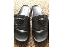 Versace Slider Black Fairly Used