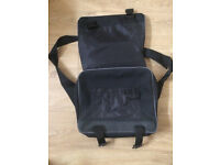 Reebok laptop bag with carry handle and strap.