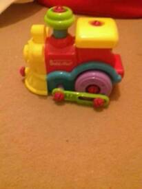 Small fisher price train tool