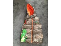 Boys gilet Size 5-6 Years Old , great condition