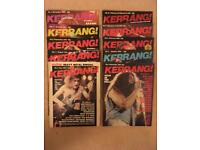 Kerrang - first 76 issues