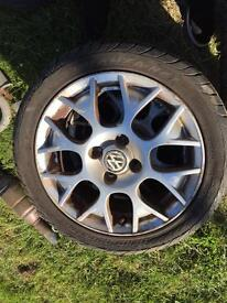 VOLKSWAGEN BBS ALLOYS 13""