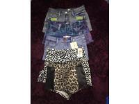 Shorts bundle size 6 xs