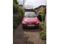 Vauxhall Corsa Life, 3 door