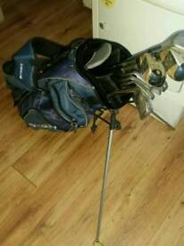 Set golf clubs Ryder with skymax bag