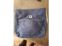 Blue baby mule changing bag
