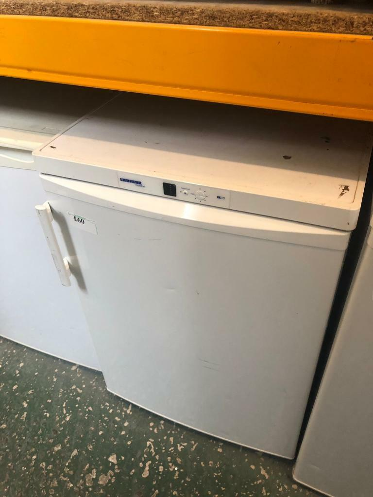 White liebherr comfort under counter fridge available today  08b725d31d8bd