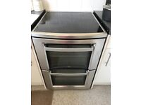 AEG ELECTRIC TOUCH HOB COOKER