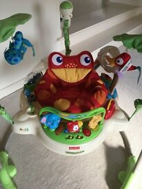 Rainforest Jumperoo in excellent condition for sale