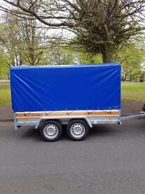 Brand new trailer 750kg twin axle