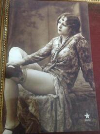 1920s/30s vintage flapper ladies x 1