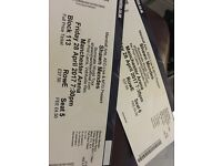 Shawn Mendes tickets x2 28/04/17 Manchester Arena