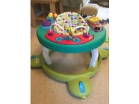 Mothercare baby play gym and walker