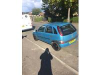 Corsa c for sale or swap