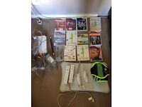 Wii Games console with accessories