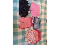 Girls summer clothing bundle age 2-3