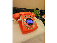 Retro style house telephone, used but in excellent condition.