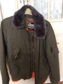 Superdry flight jacket