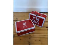 Liverpool lunch box x2