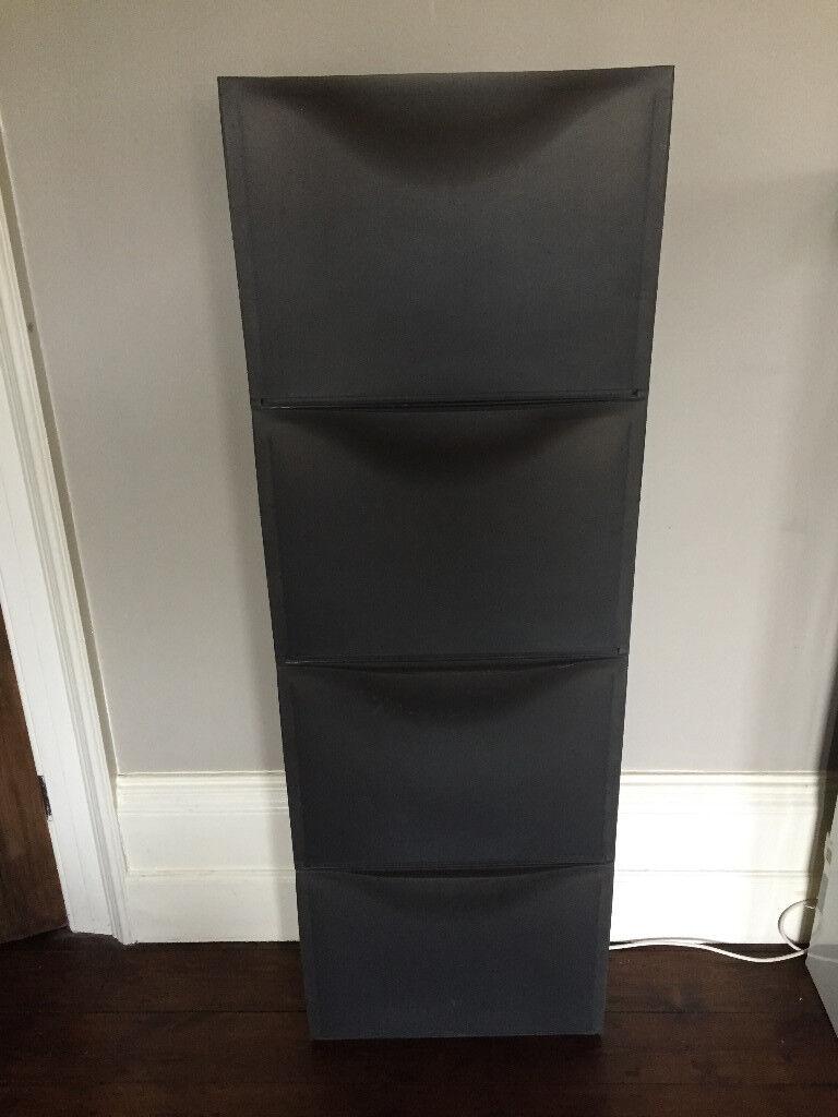 Ikea Shoe Bo Storage Grey Plastic Stacked Or Wall Mount Kids Toy In Newcastle Tyne And Wear Gumtree