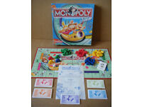 (Monopoly Junior) Rollercoaster money board game. Waddingtons 2001. Complete.