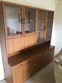 Lovely large wall unit excellent condition