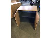 Oak Low Storage Cupboard