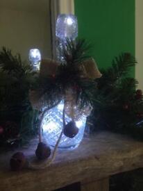 Decanter Christmas Light
