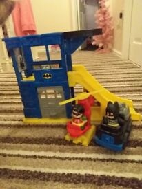 Fisher price little people batcave