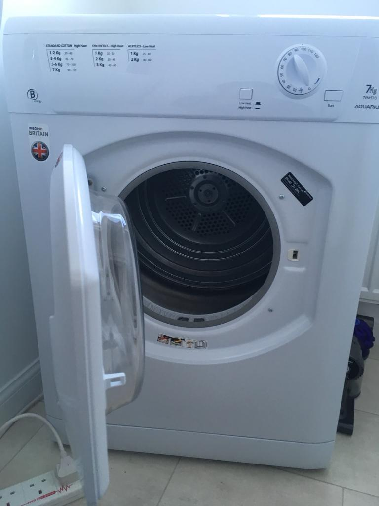 Hotpoint Aquarius TVM 570 P Dryer COLLECTION ONLY