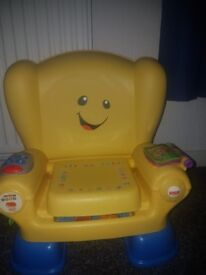 Yellow learning chair