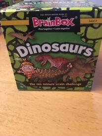 Brainbox Dinosaurs Game