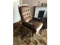 PARKER KNOLL reclining armchair for sale