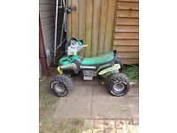 Kids Kawasaki electric quad bike (110x68cm)