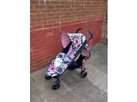 Cosatto Yo Monobloom stroller pushchair. Inc footmuff for sale  Middlesbrough, North Yorkshire