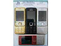 Brand New Nokia 6300 Unlocked Gold,Black,Silver And Red Colour