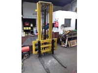 nice we tractor forklift 1.5 ton new chains fitted by McConnell + side shift.