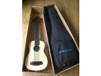 Kala Ubass fretless bass ukelele - solid spruce top, as new in box