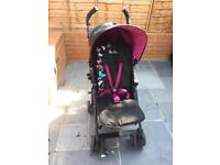 Silver Cross pop stroller - butterflies