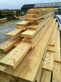 7 x 2 (175mm x 45mm) Rough Sawn Timber - Various Lengths