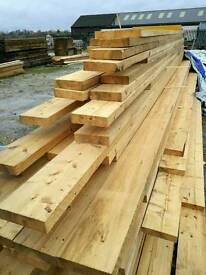 7 x 2 (175mm x 45mm) Rough Sawn Timber - Various Lengths