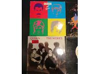 x4 Lot Queen Vinyl Records
