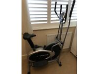 2in1 bike and cross trainer