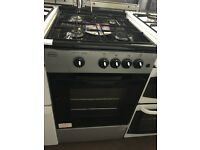 50CM SILVER GAS COOKER