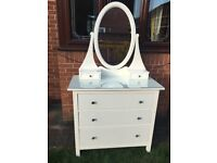Ikea Hemnes Chest of Drawers with Mirror