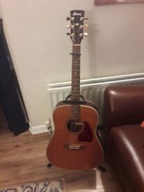 Ibanez Art Wood aw15 acoustic guitar in very good condition !